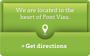 We are located in the heart of Pont Viau. Get directions